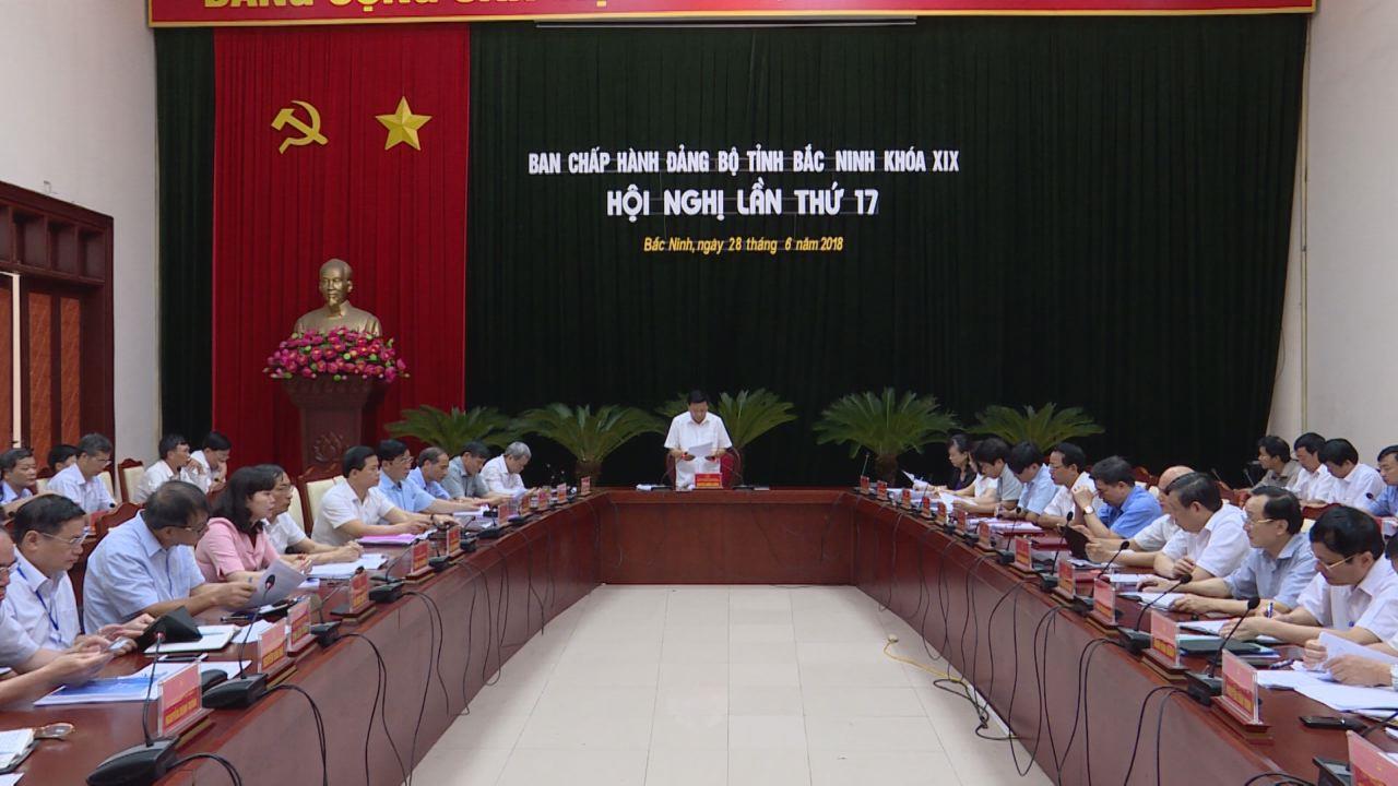 Hội nghị lần thứ 17 Ban Chấp hành Đảng bộ tỉnh khóa XIX