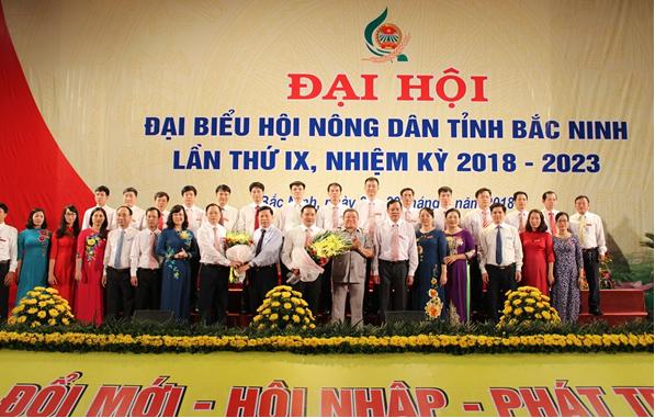 Đại hội đại biểu Hội Nông dân tỉnh Bắc Ninh lần thứ IX