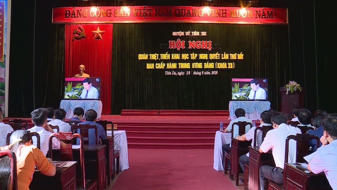 Bắc Ninh:Gần 1.200 điểm cầu tham gia học tập Nghị quyết Trung ương 7