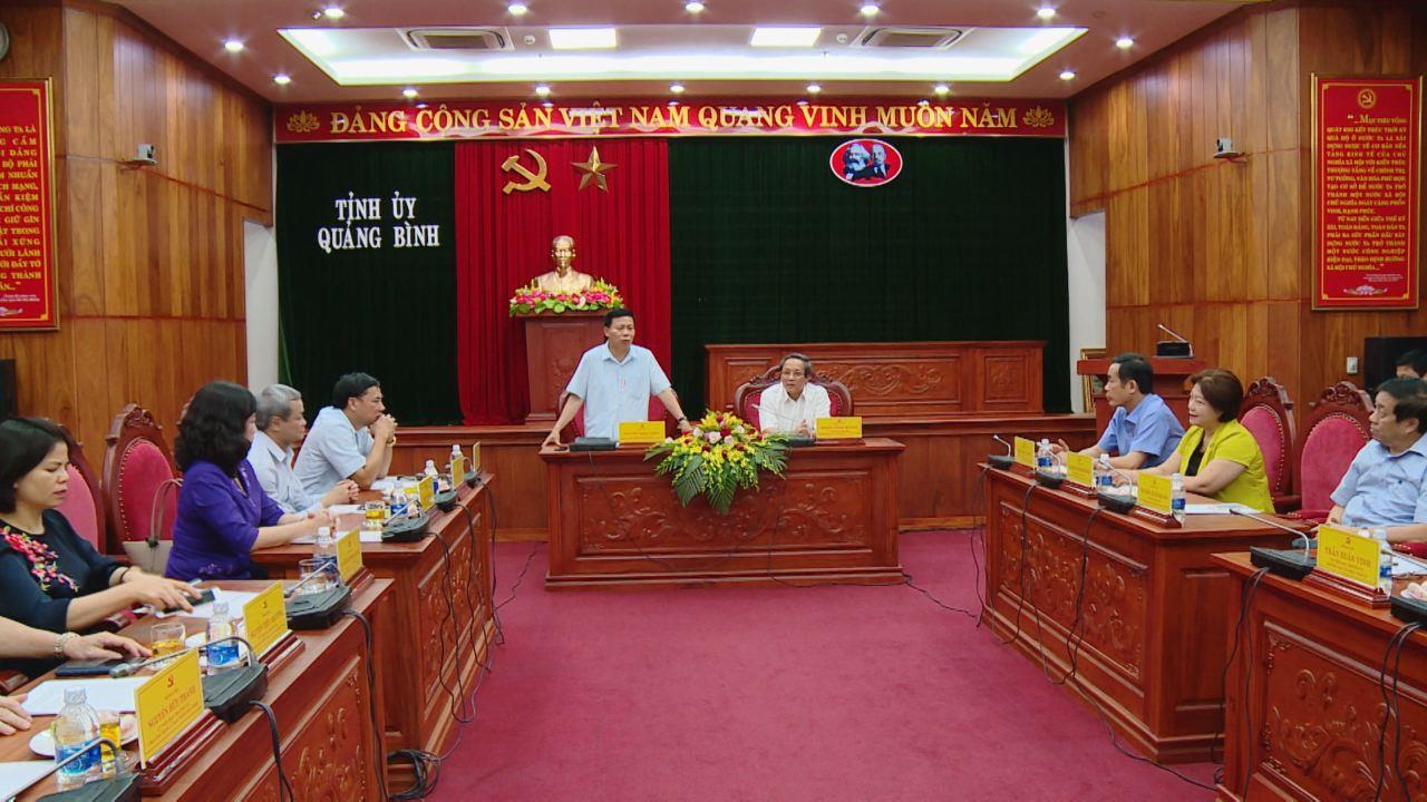 Đoàn cán bộ lãnh đạo tỉnh Bắc Ninh thăm và làm việc tại tỉnh Quảng Bình