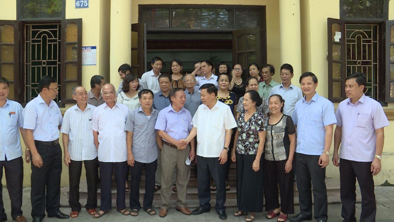 Bí thư Tỉnh ủy dự sinh hoạt chi bộ cơ sở tại thành phố Bắc Ninh