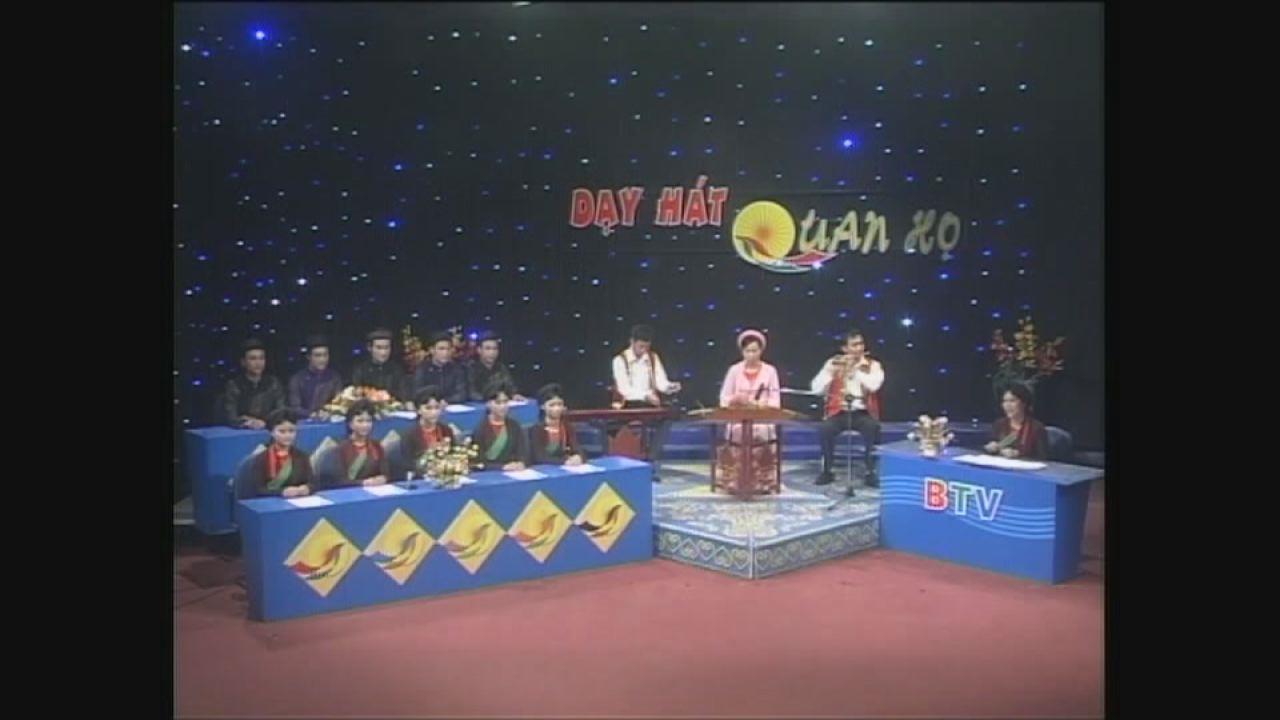 """Quảng bá chương trình: """" Dạy hát dân ca Quan họ Bắc Ninh trên Truyền hình"""""""