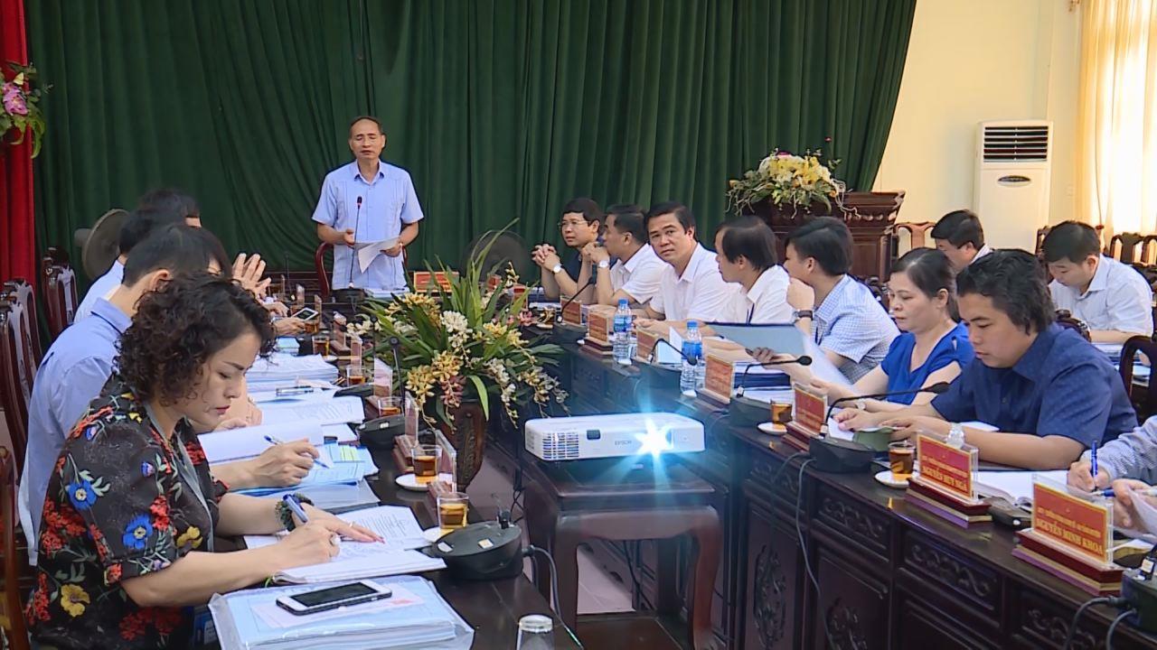 Phó Chủ tịch UBND tỉnh Nguyễn Hữu Thành làm việc với huyện Tiên Du