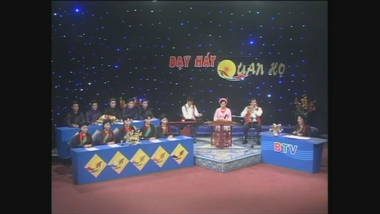 Quảng bá dạy hát dân ca Quan họ Bắc Ninh