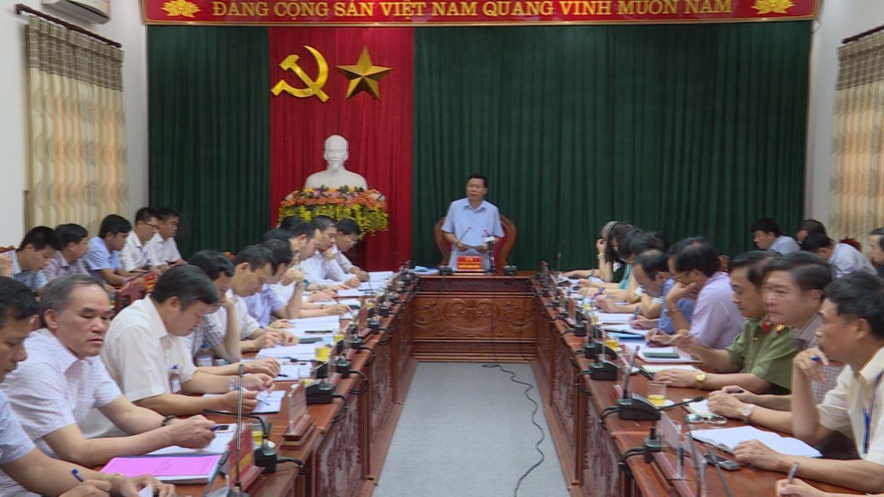 Lãnh tỉnh làm việc tại thị xã Từ Sơn