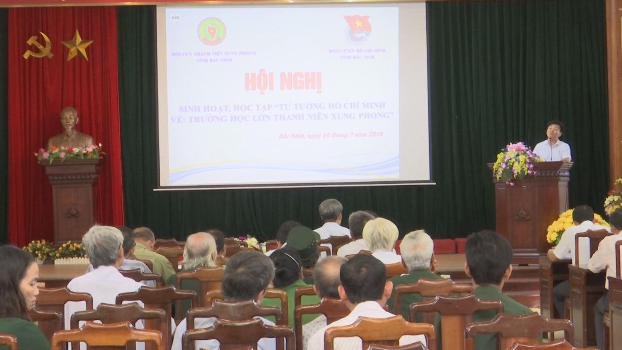 """Hội Cựu thanh niên xung phong học tập """"Tư tưởng Hồ Chí Minh về trường học lớn thanh niên xung phong"""""""