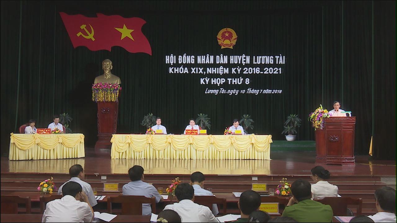 Kỳ họp thứ 8, HĐND huyện Lương Tài khóa XIX, nhiệm kỳ 2016-2021