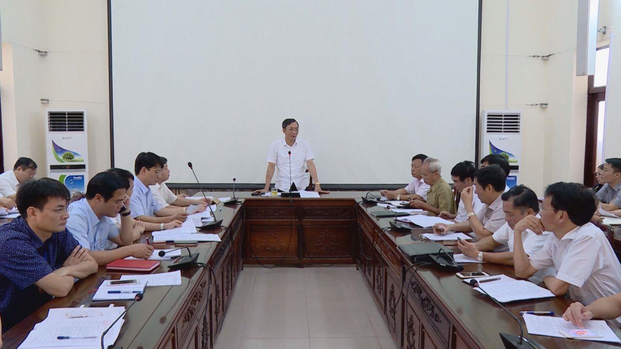 UBND tỉnh họp bàn tổ chức  Lễ truy tặng danh hiệu Anh hùng LLVT nhân dân