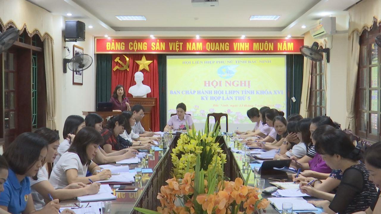 Hội Phụ nữ tỉnh triển khai nhiệm vụ 6 tháng cuối năm 2018