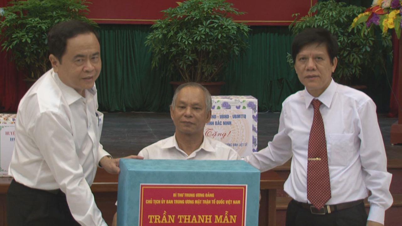 Bí thư Trung ương Đảng, Chủ tịch Ủy ban Trung ương MTTQ Việt Nam Trần Thanh Mẫn thăm Trung tâm Điều dưỡng thương binh Thuận Thành