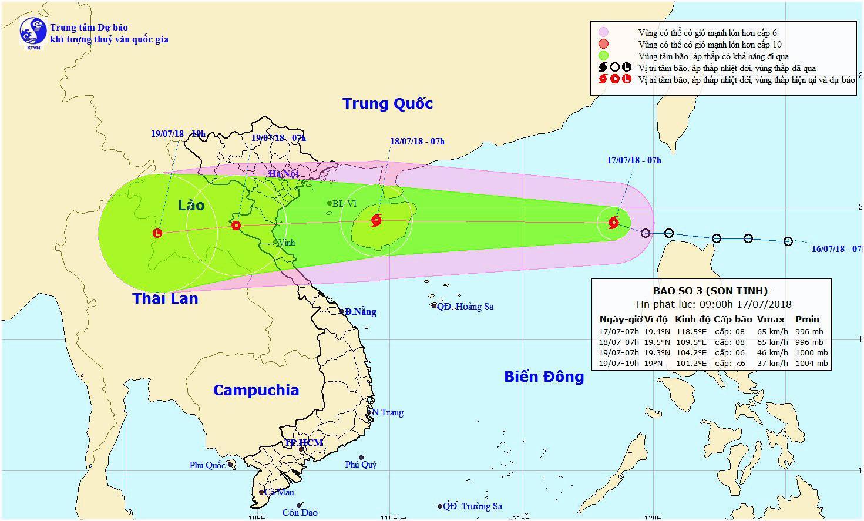 Công điện số 01/CĐ của Ban Chỉ huy PCTT và TKCN tỉnh về chủ động đối phó với mưa, lũ