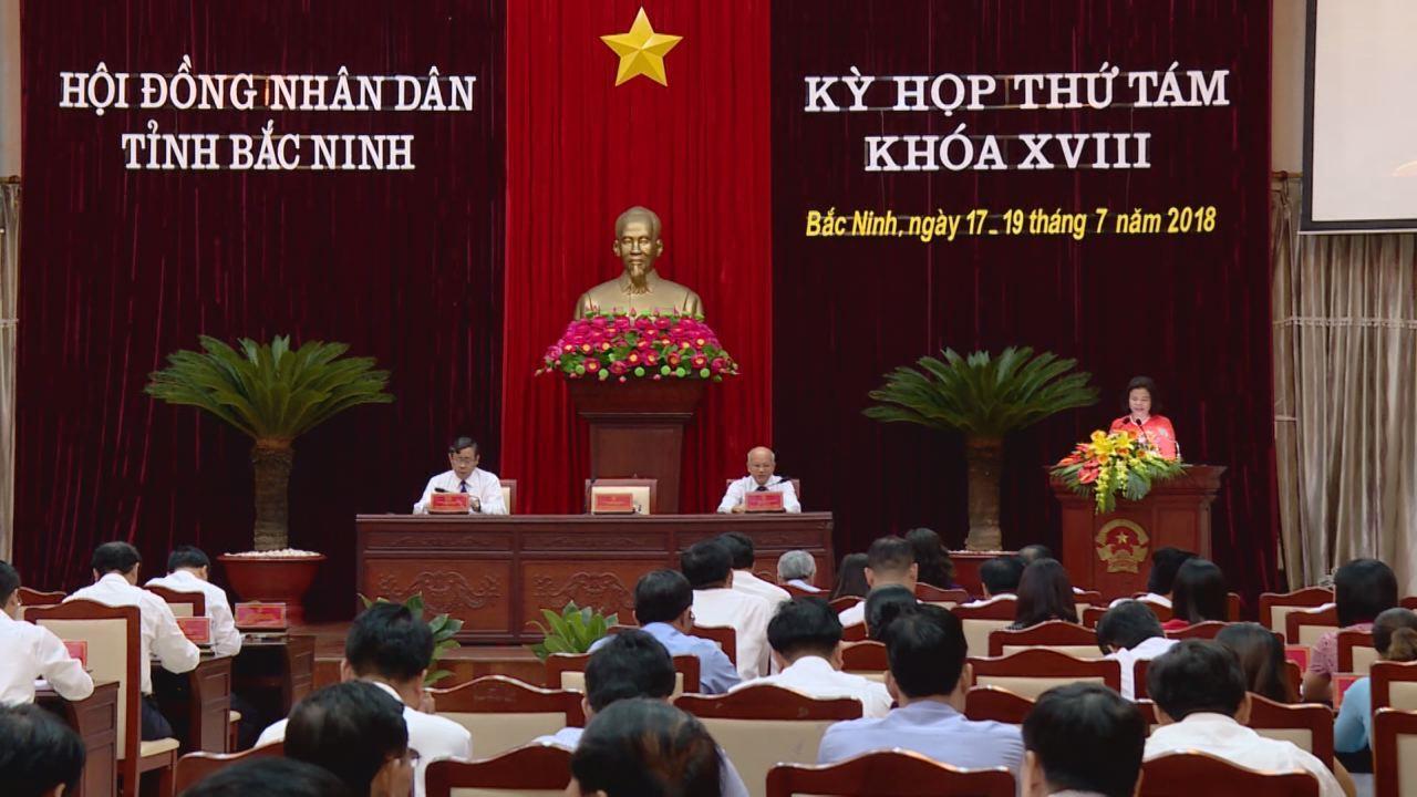 Kỳ họp thứ 8, HĐND tỉnh khóa 18 thành công tốt đẹp