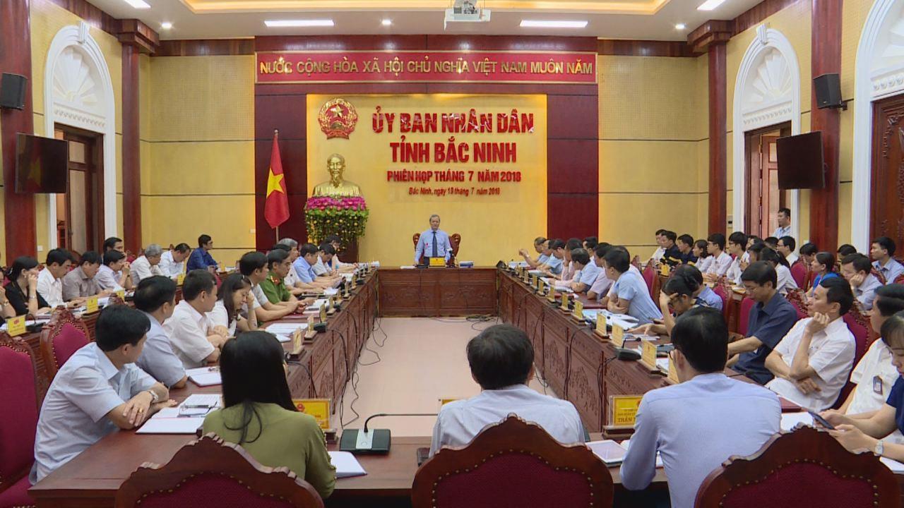 UBND tỉnh họp phiên thường kỳ tháng 7