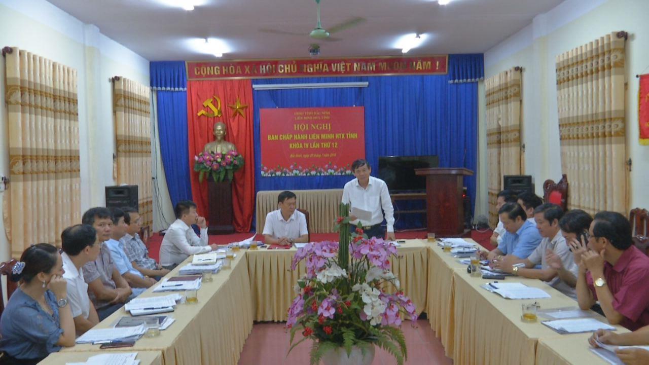 Hội nghị Ban Chấp hành Liên minh HTX tỉnh khóa IV, lần thứ 12