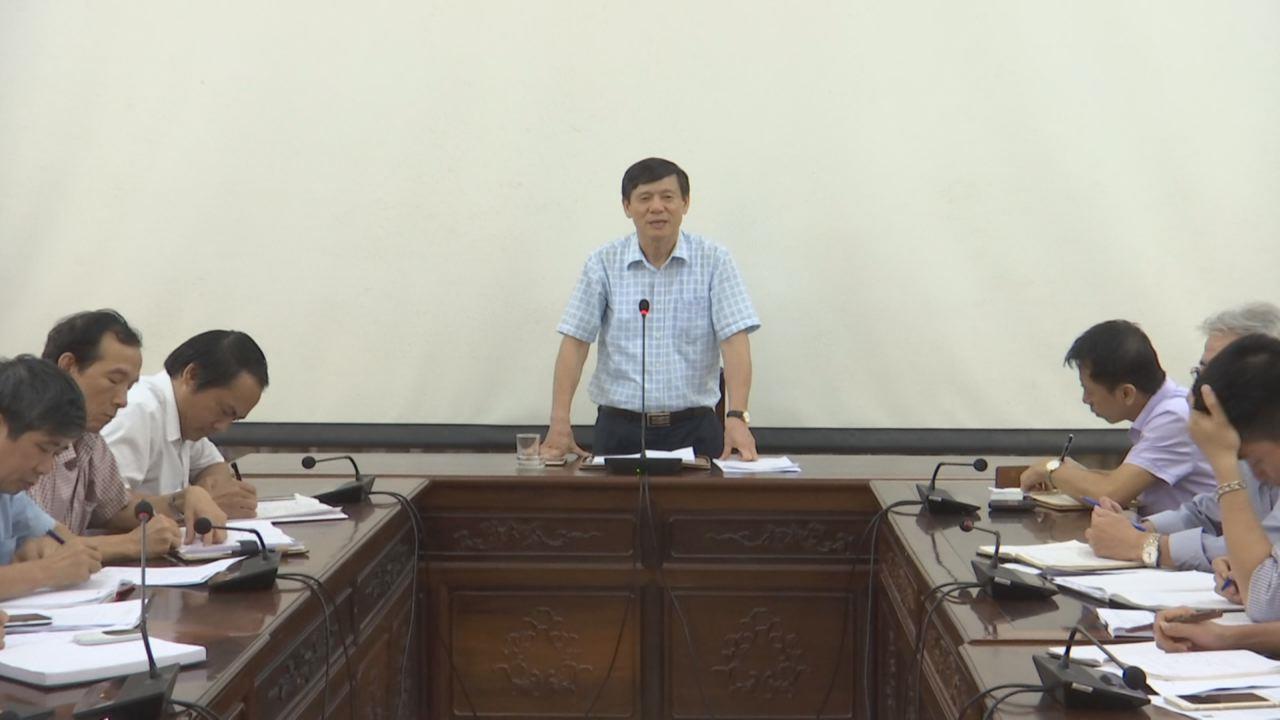 Lãnh đạo tỉnh đánh giá tiến độ thực hiện giai đoạn 2 Nhà máy nước mặt thành phố Bắc Ninh và tình hình khắc phục sự cố Trạm biến áp 110 kV Võ Cường