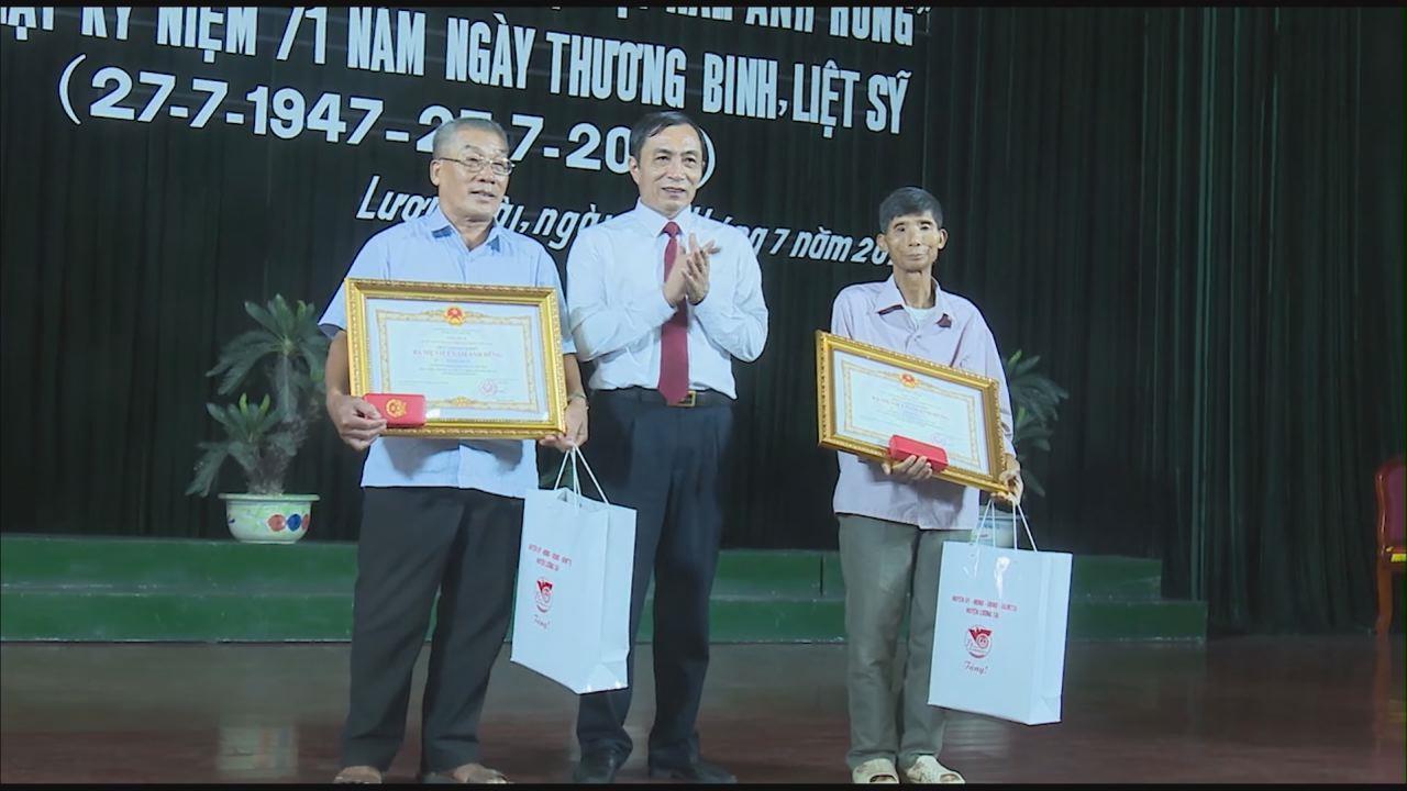 """Huyện Lương Tài tổ chức truy tặng danh hiệu """"Bà mẹ Việt Nam Anh hùng"""" và gặp mặt kỷ niệm 71 năm Ngày Thương binh, liệt sĩ"""