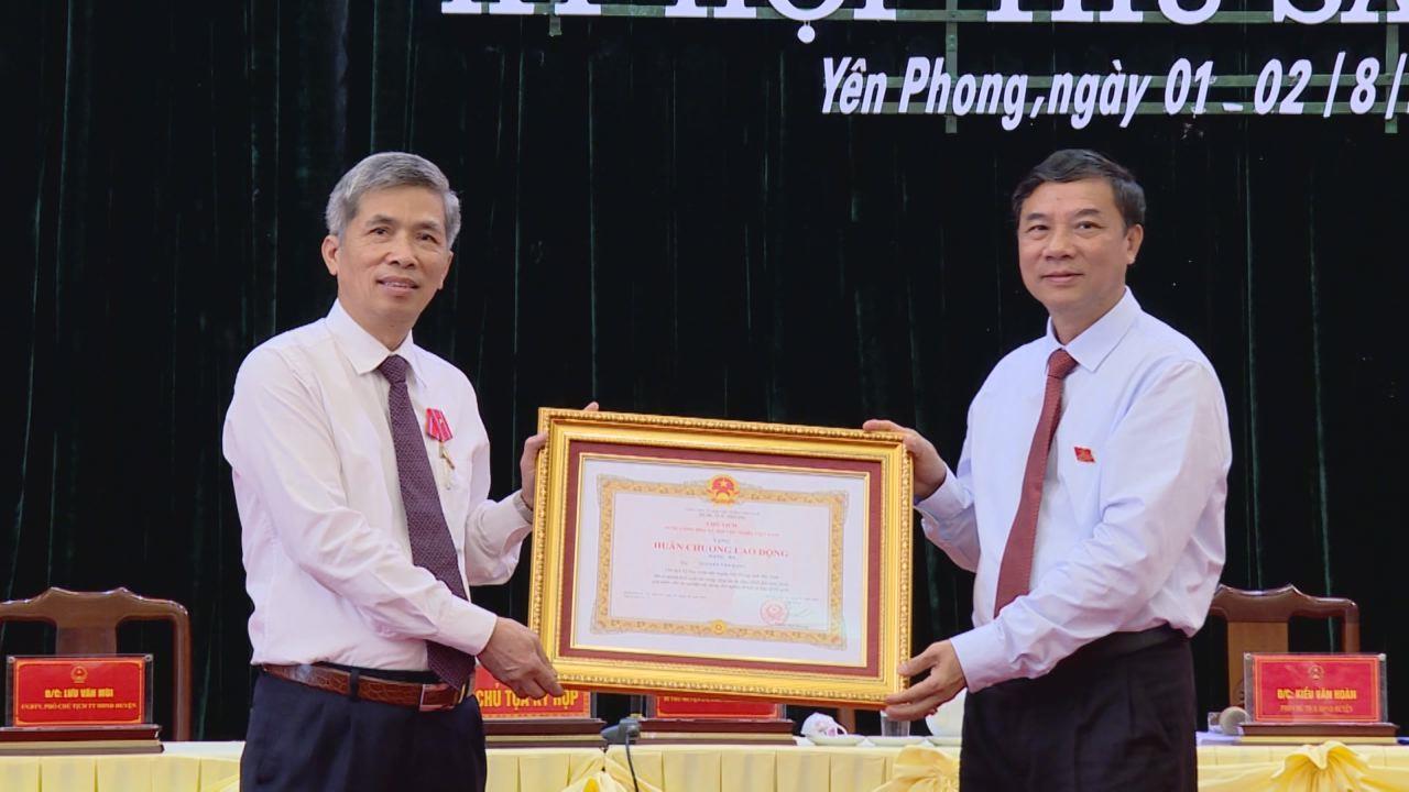 Kỳ họp thứ Sáu, HĐND huyện Yên Phong khóa XIX