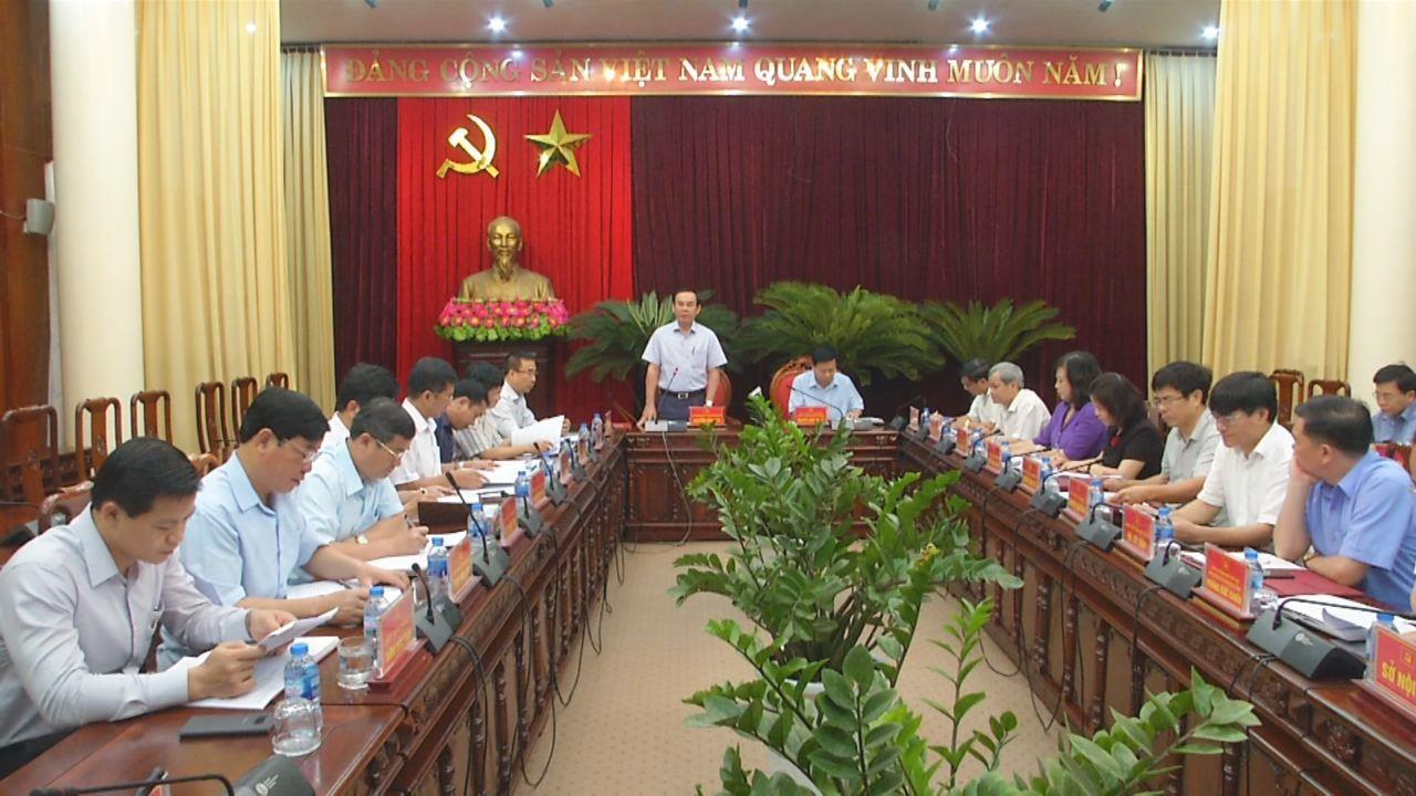 Đoàn công tác Ban Bí thư T.Ư Đảng làm việc tại Bắc Ninh