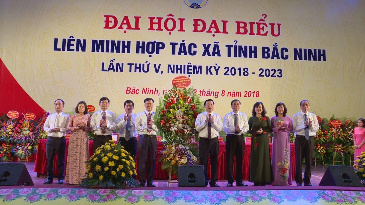 Đại hội Liên minh HTX tỉnh Bắc Ninh lần thứ V, nhiệm kỳ 2018-2023