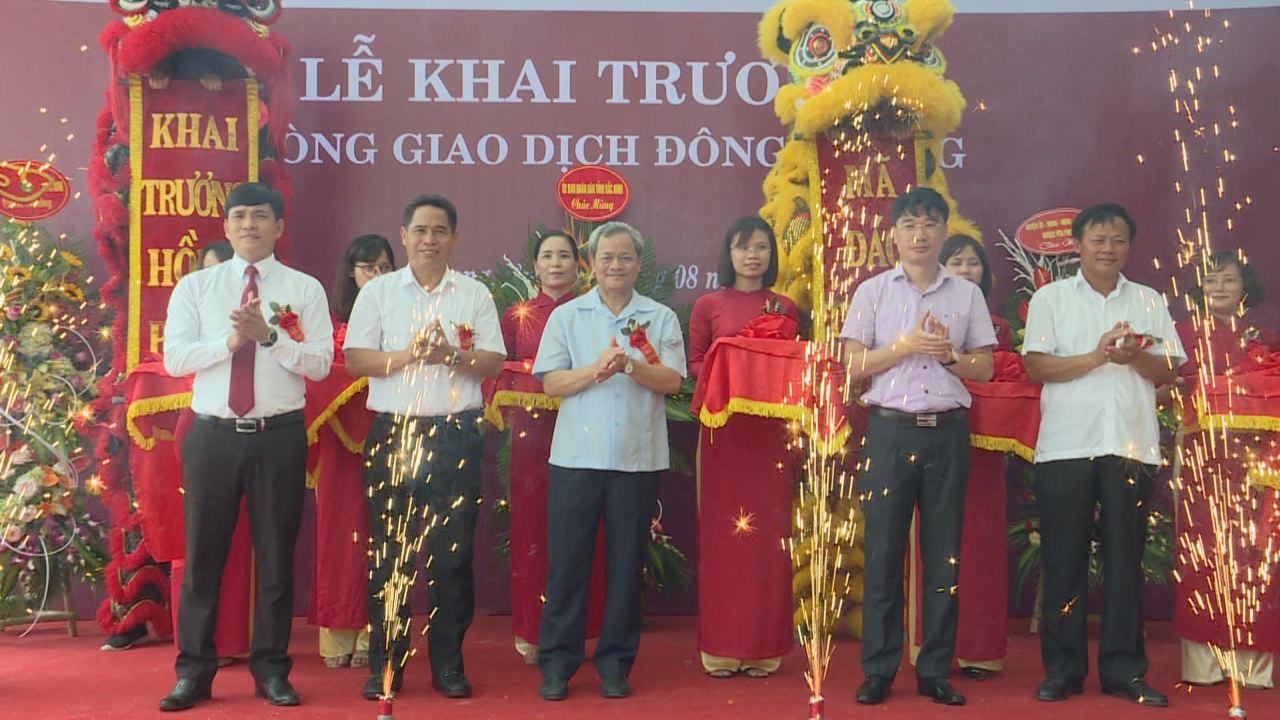 Agribank Bắc Ninh khai trương Phòng giao dịch Đông Phong