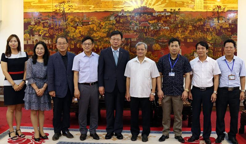 Chủ tịch UBND tỉnh tiếp đoàn đại biểu thành phố Gumi Hàn Quốc
