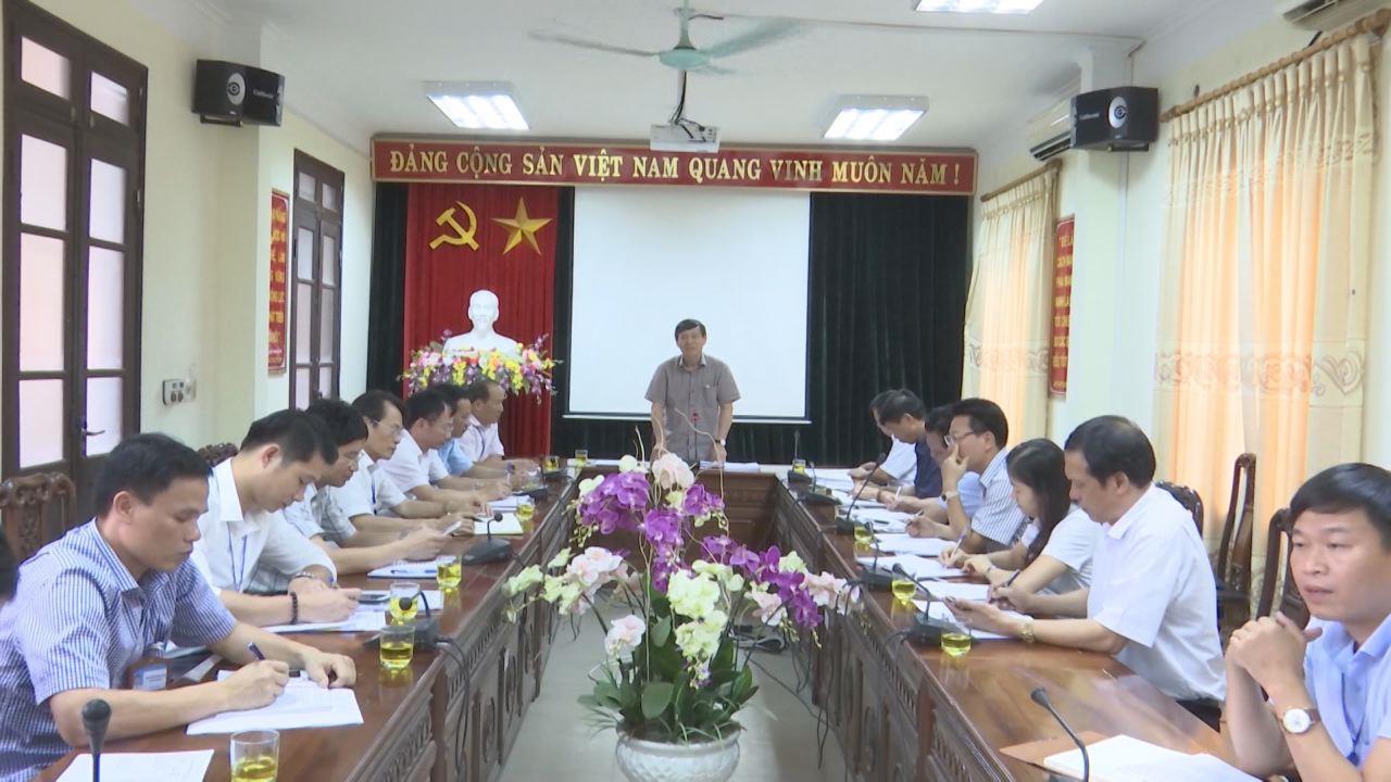 Phó Chủ tịch Thường trực UBND tỉnh làm việc tại Hội đồng Khoa học và công nghệ, Hội đồng Sáng kiến tỉnh