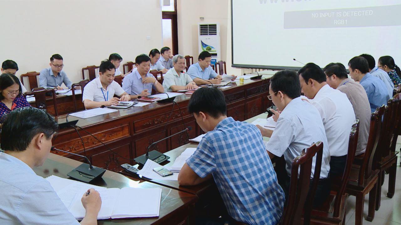 UBND tỉnh họp bàn tiến độ thực hiện Dự án Công viên Hữu nghị Quốc tế tỉnh Bắc Ninh