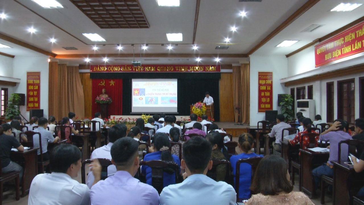 Sở Thông tin và Truyền thông tập huấn cán bộ Đài truyền thanh cơ sở