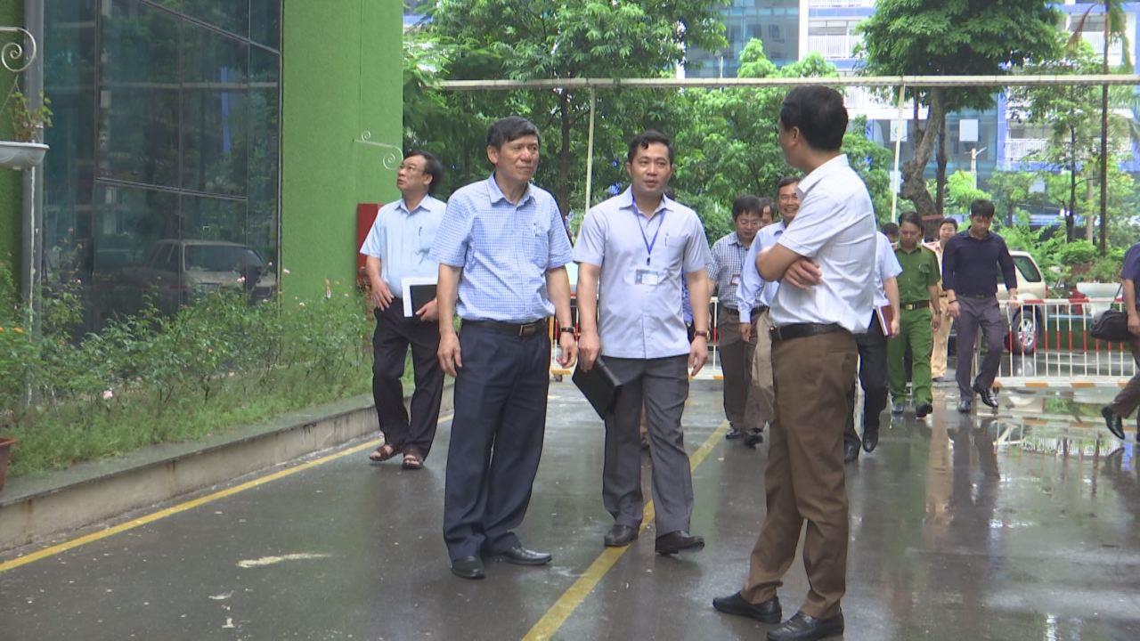 Phó Chủ tịch Thường trực UBND tỉnh làm việc với các đơn vị  về tình hình tổ chức giao thông khu vực nhà ở xã hội Cát Tường