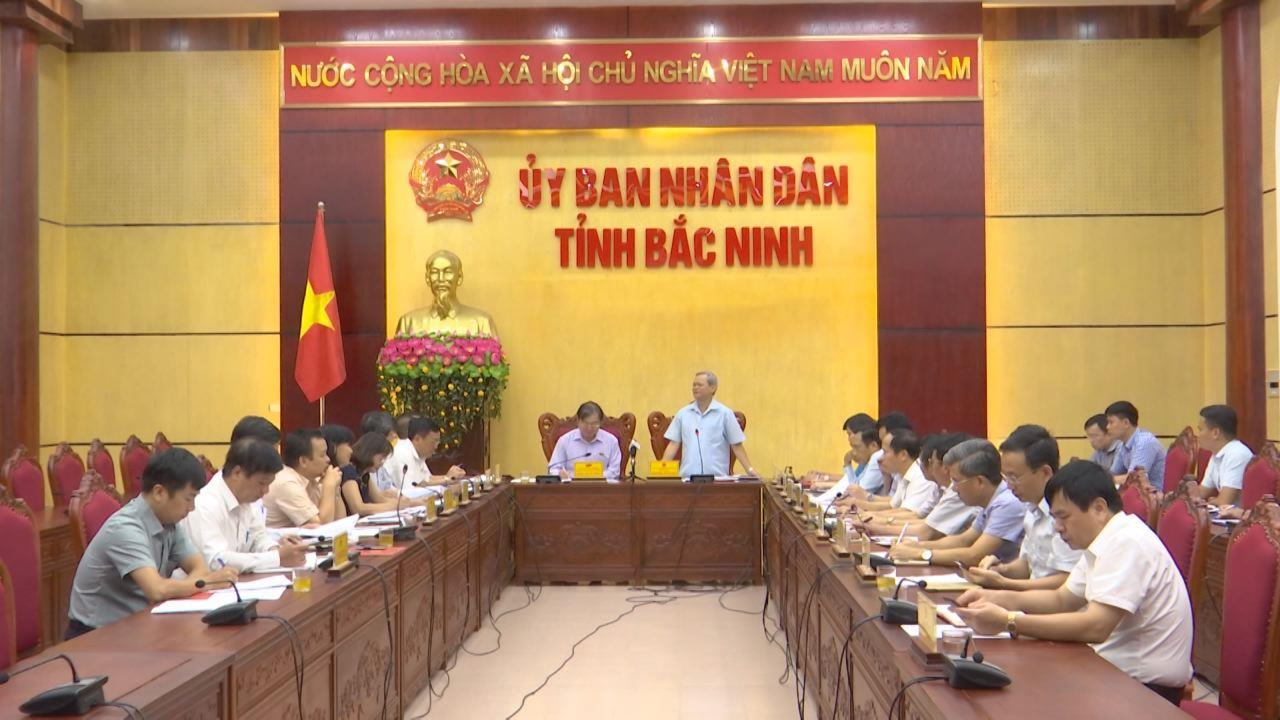 Đoàn giám sát của Ủy ban ban Khoa học, công nghệ và Môi trường làm việc với tỉnh Bắc Ninh về hoạt động bảo vệ môi trường
