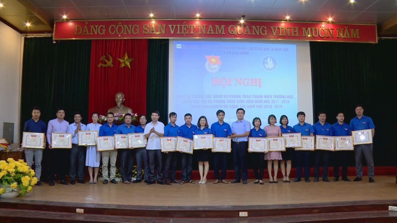Triển khai nhiệm vụ công tác Đoàn và phong trào thanh niên trường học, công tác Hội và phong trào sinh viên năm học 2018-2019