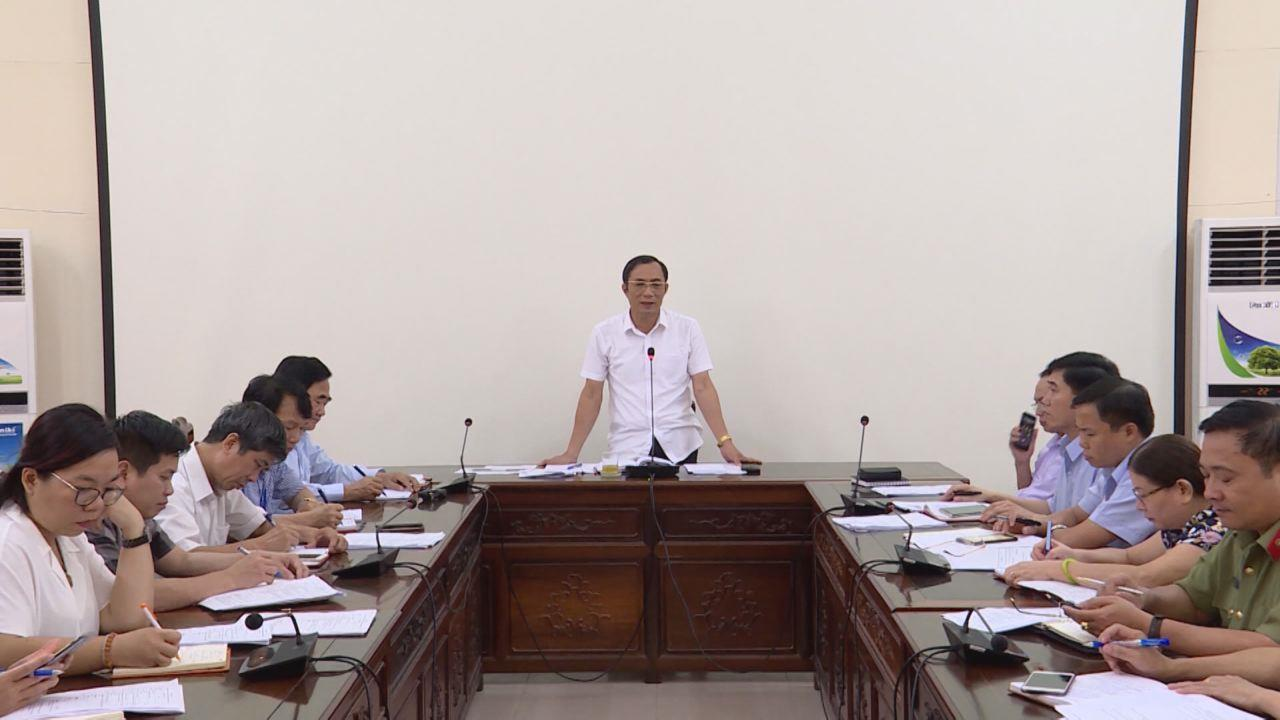 UBND tỉnh họp bàn công tác chuẩn bị tổ chức chương trình  Bắc Ninh với khuyến học, khuyến tài 2018