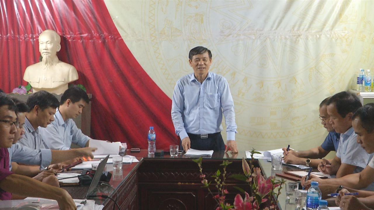 UBND tỉnh họp bàn giải phóng mặt bằng Dự án Trạm biến áp 110KV Nam Sơn – Hạp Lĩnh và nhánh rẽ