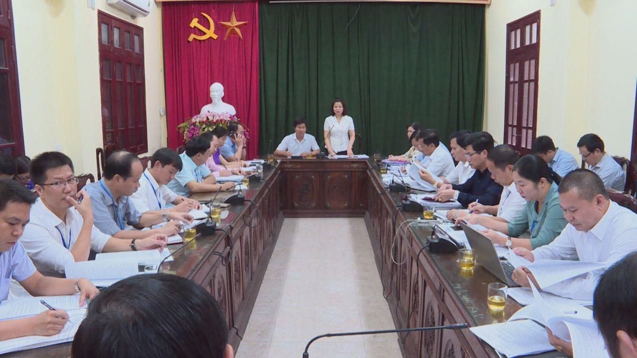 Thường trực HĐND tỉnh giám sát đầu tư công tại thị xã Từ Sơn