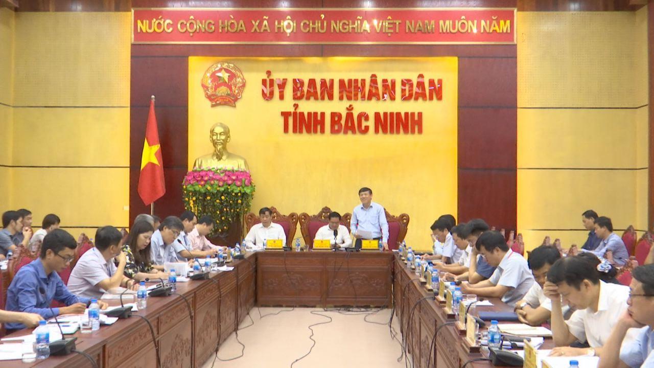 Đoàn kiểm tra, khảo sát tình hình thi hành Luật Thủ đô làm việc tại Bắc Ninh
