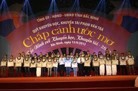 """Chương trình """"Chắp cánh ước mơ - Bắc Ninh với khuyến học, khuyến tài"""""""