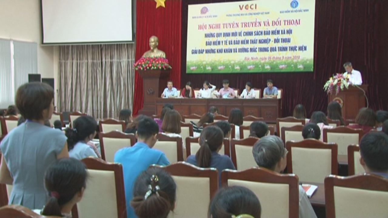 Hội nghị tuyên truyền, đối thoại chính sách Bảo hiểm Xã hội