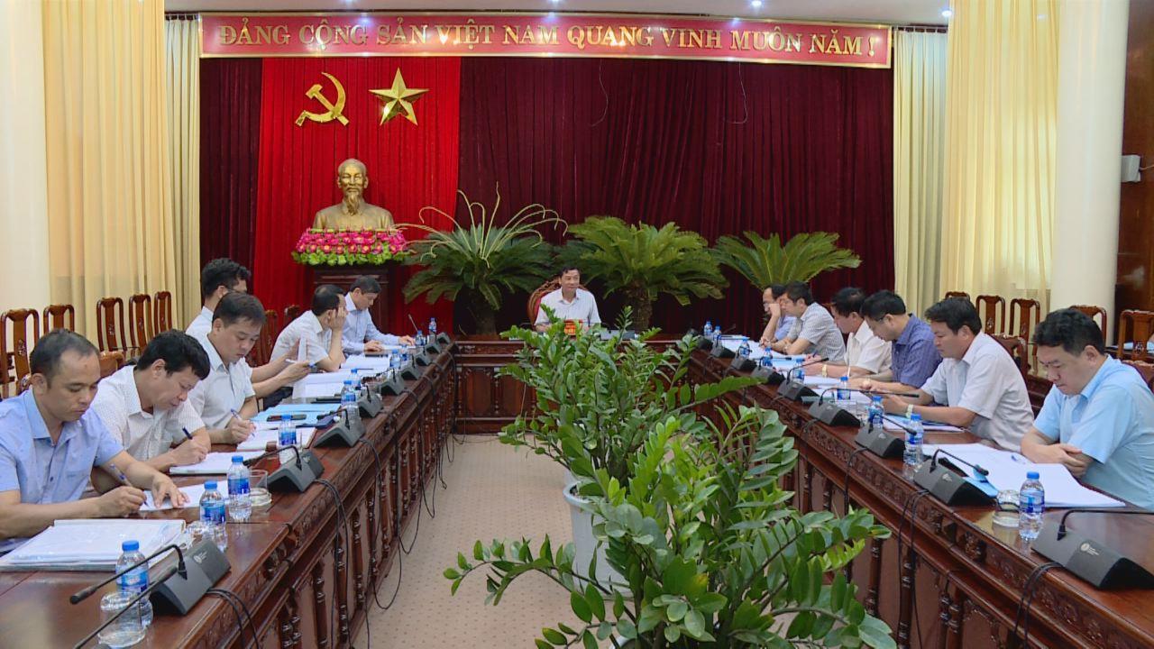 Tỉnh ủy họp bàn thiết kế kiến trúc công trình trụ sở các ban Đảng