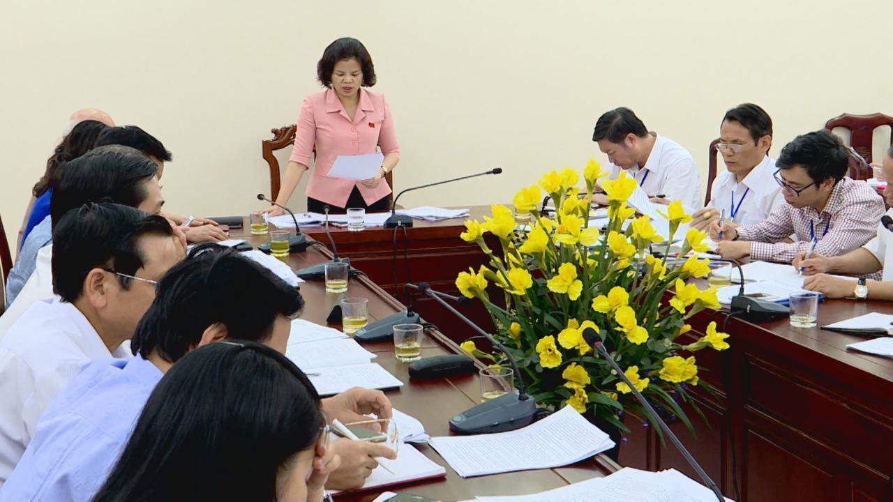 Thường trực HĐND tỉnh giám sát tại Sở Kế hoạch và Đầu tư