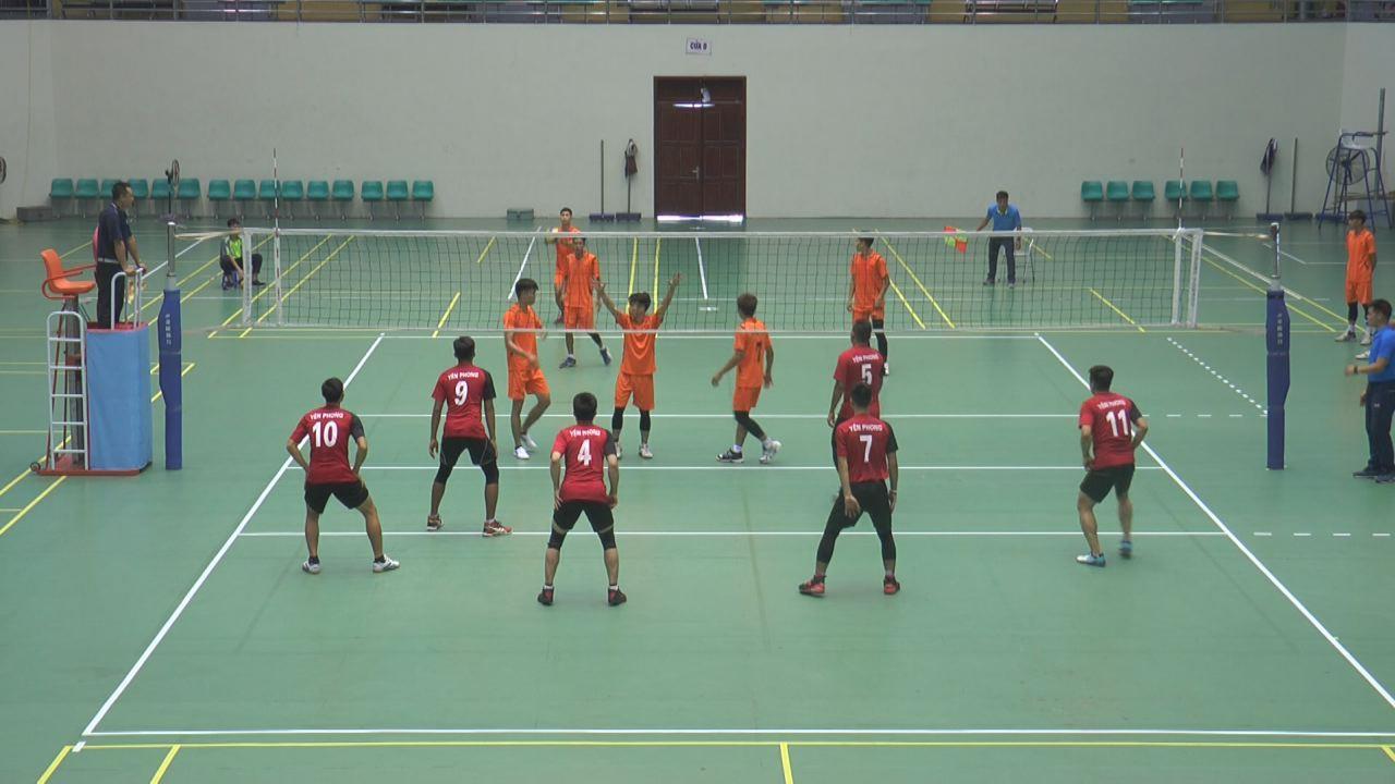 Hơn 100 vận động viên tham dự Giải bóng chuyền Đại hội TDTT cấp tỉnh