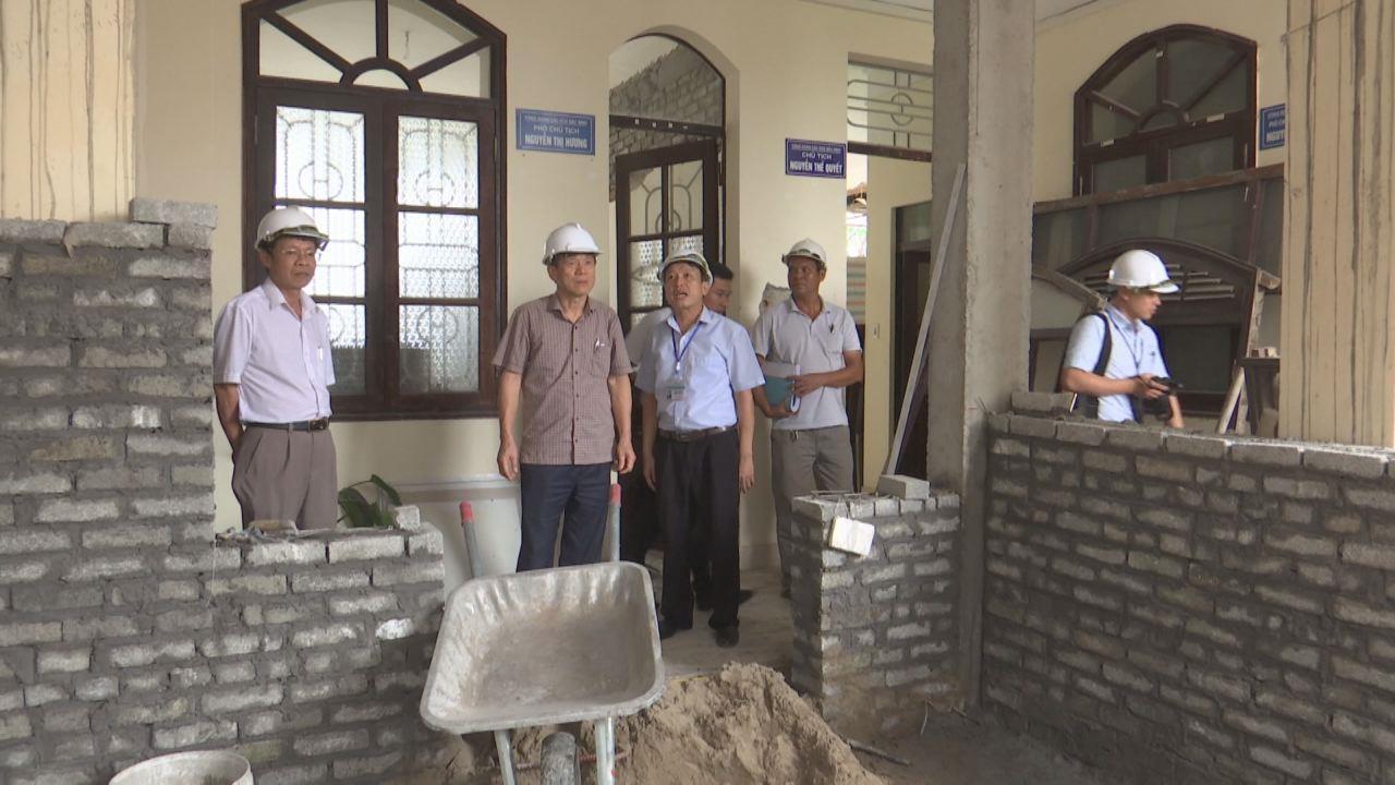 Lãnh đạo tỉnh kiểm tra tiến độ xây dựng  nhà ở xã hội tại KCN Yên Phong