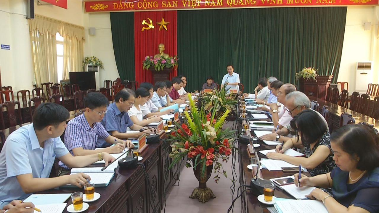 Hội đồng Lý luận Trung ương làm việc với huyện Tiên Du