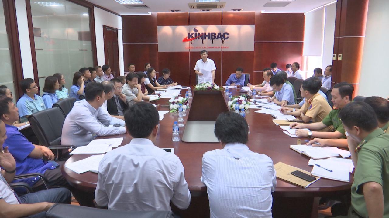 Lãnh đạo tỉnh giải quyết kiến nghị của các doanh nghiệp tại KCN Quế Võ