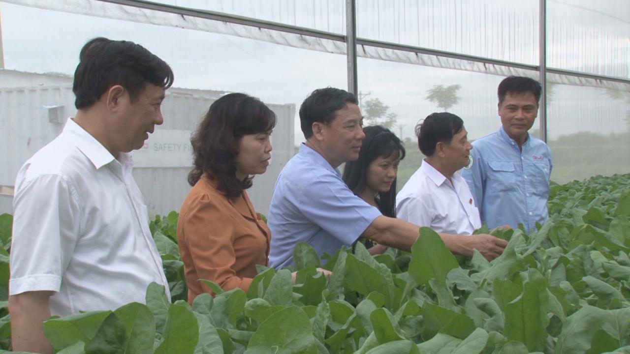Đoàn Đại biểu Quốc hội tỉnh tiếp xúc cử tri tại xã Nguyệt Đức, huyện Thuận Thành