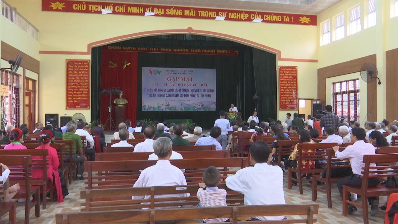 Đài tiếng nói Việt Nam đã tổ chức giao lưu gặp mặt hội viên CLB Bạn nghe đài