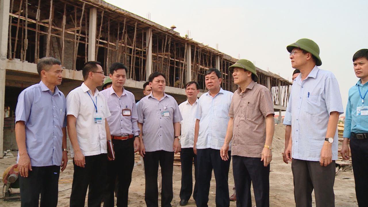 Lãnh đạo tỉnh làm việc với huyện Gia Bình