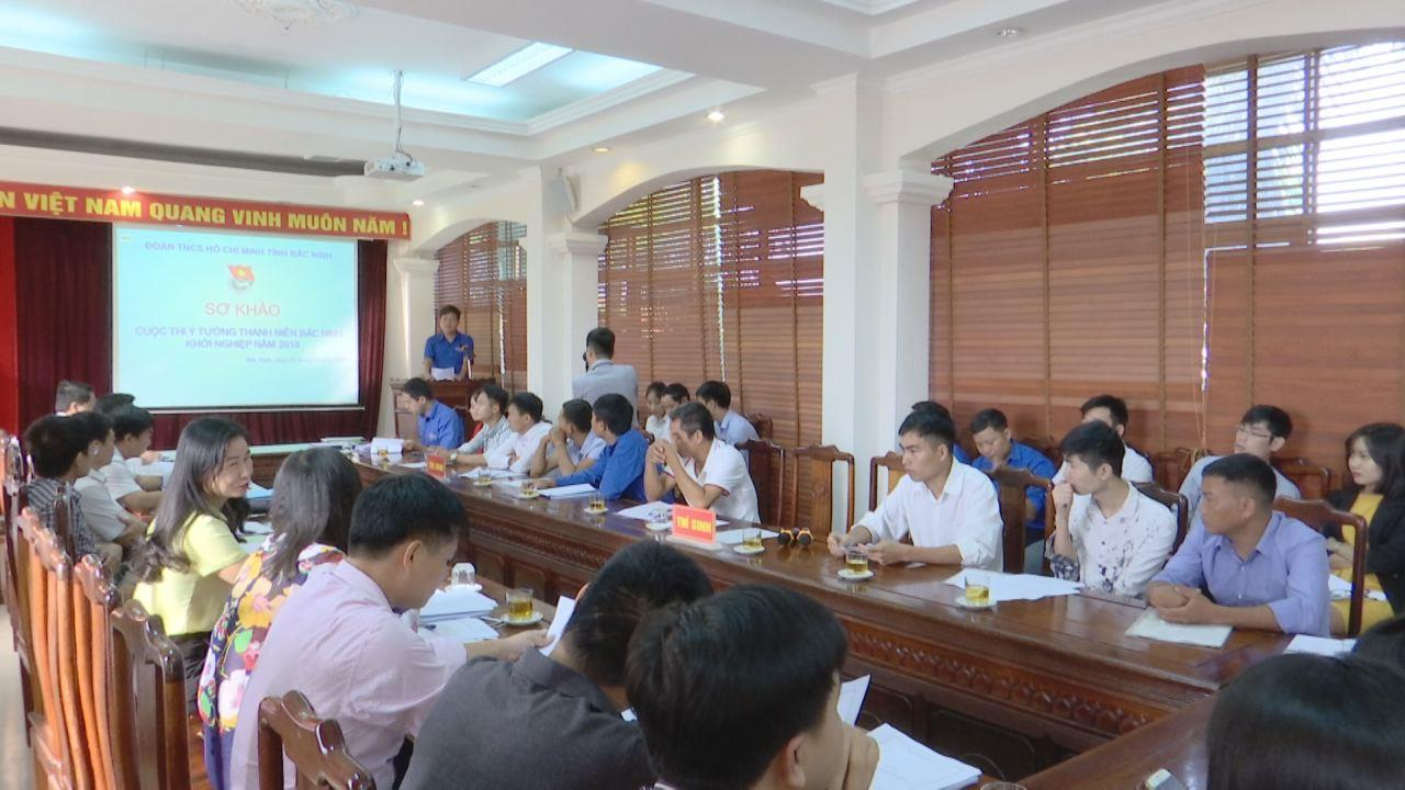 """Cuộc thi """"Ý tưởng thanh niên Bắc Ninh khởi nghiệp"""" năm 2018"""