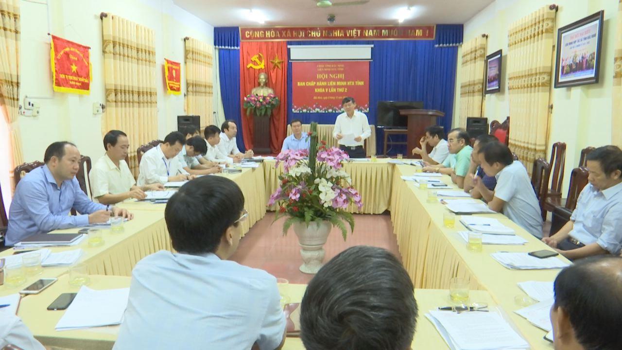Hội nghị Ban Chấp hành Liên minh HTX tỉnh khóa V