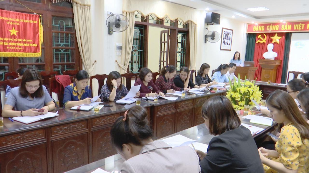 Họp Ban Tổ chức Hội thi Phụ nữ hát Dân ca Quan họ tuyên truyền An toàn thực phẩm