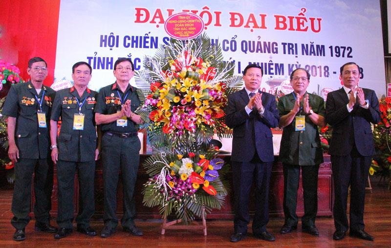 Đại hội đại biểu Hội Chiến sĩ Thành cổ Quảng Trị năm 1972  tỉnh Bắc Ninh lần thứ I, nhiệm kỳ 2018 – 2023
